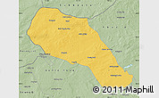 Savanna Style Map of Sonid Zuoqi