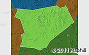 Political Map of Taibus Qi, darken