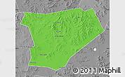 Political Map of Taibus Qi, desaturated