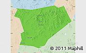 Political Map of Taibus Qi, lighten