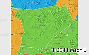 Political Map of Taibus Qi