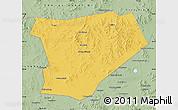 Savanna Style Map of Taibus Qi