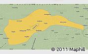 Savanna Style Map of Tongliao