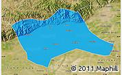 Political Map of Tumd Youqi, satellite outside
