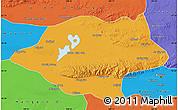 Political Map of Urad Qianqi