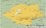 Savanna Style Map of Urad Qianqi