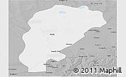 Gray Panoramic Map of Uxin Qi