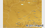 Physical Panoramic Map of Uxin Qi
