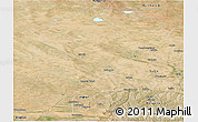 Satellite Panoramic Map of Uxin Qi