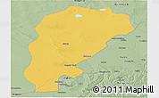 Savanna Style Panoramic Map of Uxin Qi