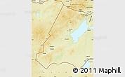 Physical Map of Xinbarag Youqi