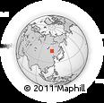 Outline Map of Xinbarag Youqi