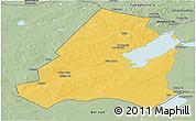 Savanna Style Panoramic Map of Xinbarag Youqi