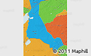 Political Map of Xinbarag Zuoqi