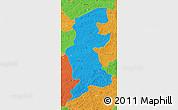 Political Map of Xuguit Qi