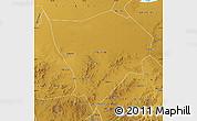 Physical Map of Zhanglan Qi