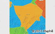 Political Map of Zhanglan Qi