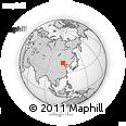 Outline Map of Zhengxianbai Qi