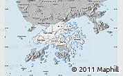 Gray Map of New Territories