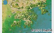 Satellite Map of New Territories