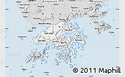 Silver Style Map of New Territories