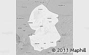 Gray 3D Map of Lingwu