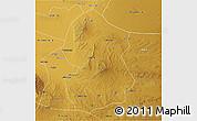 Physical 3D Map of Lingwu
