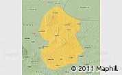 Savanna Style 3D Map of Lingwu