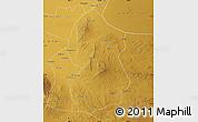 Physical Map of Lingwu