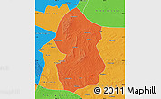 Political Map of Lingwu