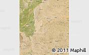 Satellite Map of Lingwu