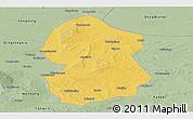 Savanna Style Panoramic Map of Lingwu