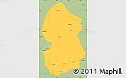 Savanna Style Simple Map of Lingwu
