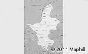 Gray Map of Ningxia