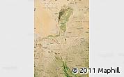 Satellite Map of Ningxia