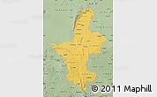 Savanna Style Map of Ningxia