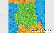 Political Map of Xiji