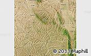 Satellite Map of Xiji