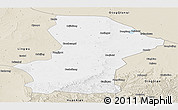 Classic Style Panoramic Map of Yanchi