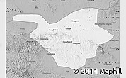 Gray Map of Zhongwei
