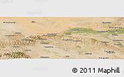 Satellite Panoramic Map of Zhongwei
