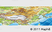 Physical Panoramic Map of China