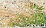 Satellite 3D Map of Qinghai