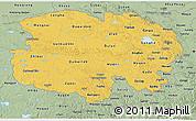 Savanna Style 3D Map of Qinghai