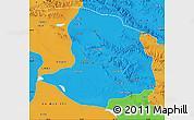 Political Map of Daqaidam