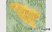 Savanna Style Map of Datong