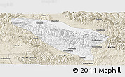Classic Style Panoramic Map of Datong