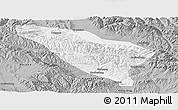 Gray Panoramic Map of Datong