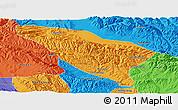 Political Panoramic Map of Datong