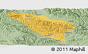 Savanna Style Panoramic Map of Datong